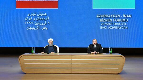 В Баку проходит азербайджано-иранский бизнес-форум - Sputnik Азербайджан