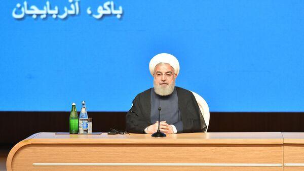 Президент Исламской Республики Иран Хасан Роухани - Sputnik Азербайджан