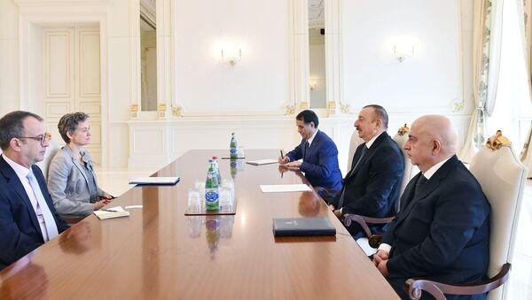 Президент Ильхам Алиев принял руководителя миссии Бюро по демократическим институтам и правам человека ОБСЕ - Sputnik Азербайджан