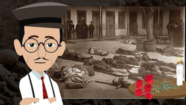 Cəbiş müəllim azərbaycanlılara qarşı törədilmiş mart soyqırımı  barədə - Sputnik Azərbaycan