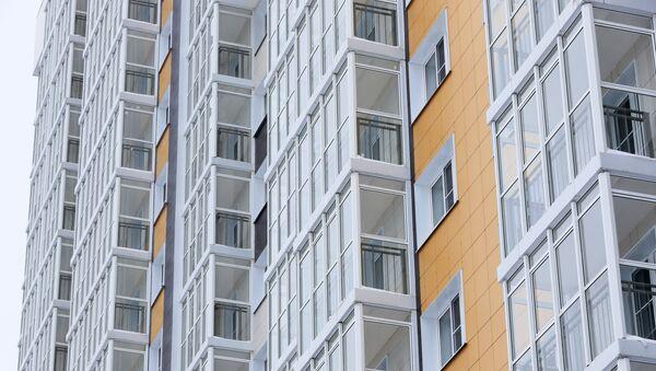 Строительство домов, фото из архива - Sputnik Азербайджан