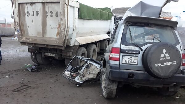 Авария в Лянкяране - Sputnik Азербайджан