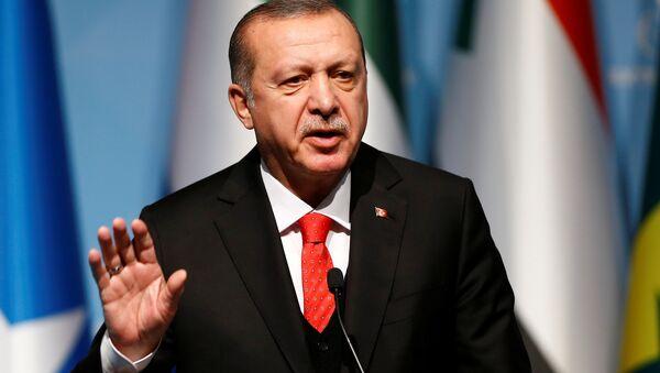 Cumhurbaşkanı Recep Tayyip Erdoğan - Sputnik Azərbaycan