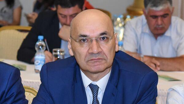 Президент Азербайджанского интернет-форума Осман Гюндуз - Sputnik Азербайджан