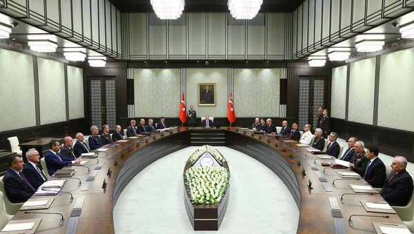 Türkiyə Təhlükəsizlik Şurasının toplantısı. Arxiv şəkli - Sputnik Azərbaycan