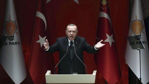 Türkiyə prezidenti Rəcb Tayyib Ərdoğan - Sputnik Azərbaycan