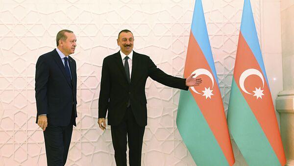 İlham Əliyev Rəcəb Tayyib Ərdoğan - Sputnik Azərbaycan