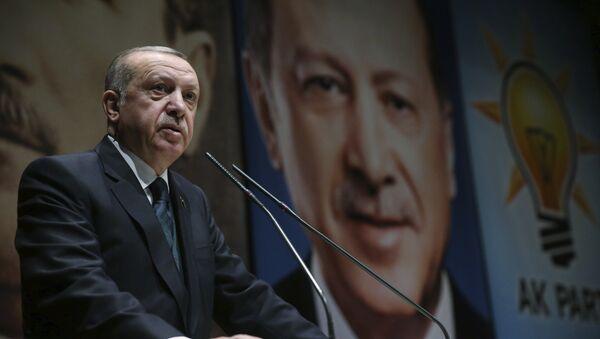 Ərdoğan Prezident Sarayında - Sputnik Azərbaycan