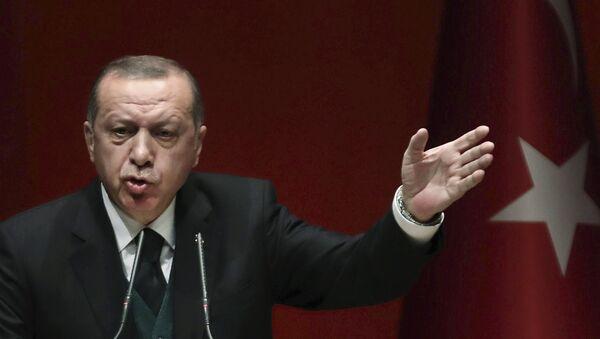 Реджеп Тайип Эрдоган - Sputnik Azərbaycan