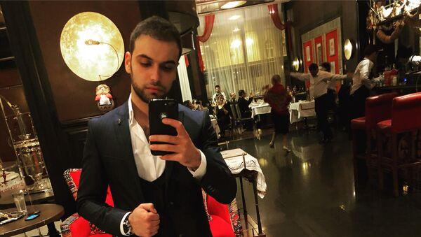 Азербайджанский исполнитель, участник международного музыкального проекта Голос Украины Джавид Мамедов - Sputnik Азербайджан