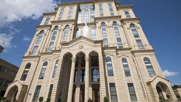 Здание Центральной избирательной комиссии Азербайджана - Sputnik Азербайджан