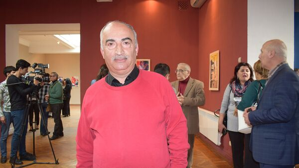 Писатель Натиг Расулзаде - Sputnik Азербайджан