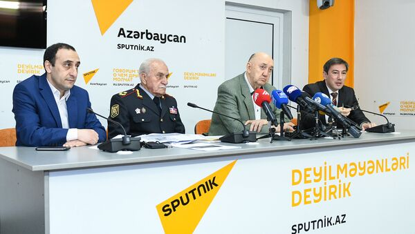 Пресс-конференция – Военный комендант Нагорного Карабаха - о событиях 30-летней давности - Sputnik Azərbaycan