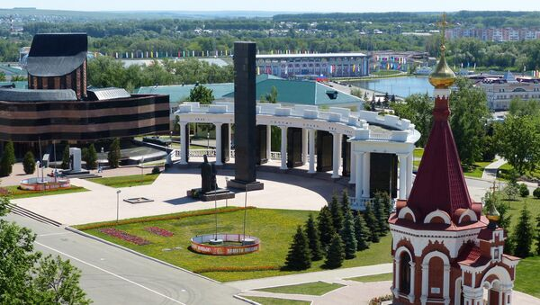 Саранск - город-организатор Чемпионата мира 2018 года - Sputnik Азербайджан