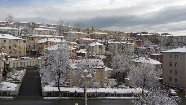 Снег в Дашкесане - Sputnik Азербайджан