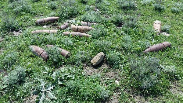 Операция по обезвреживанию мин в Агстафинском районе - Sputnik Азербайджан
