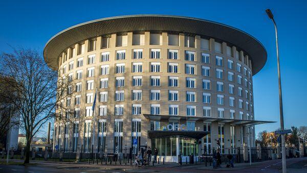 Штаб-квартира Организации по запрещению химического оружия в Гааге, Нидерланды - Sputnik Азербайджан