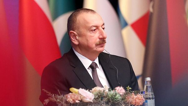 Ильхам Алиев на церемония открытия конференции министров Движения Неприсоединения - Sputnik Azərbaycan