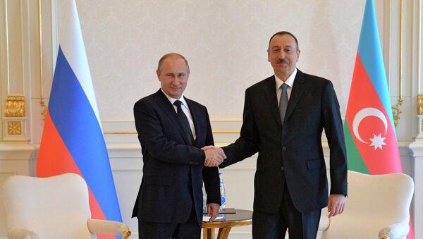 İlham Əliyev və Vladimir Putin - Sputnik Azərbaycan