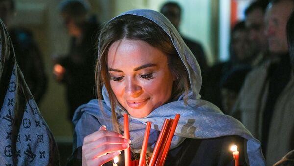 Пасхальная ночь и крестный ход в Баку - Sputnik Азербайджан