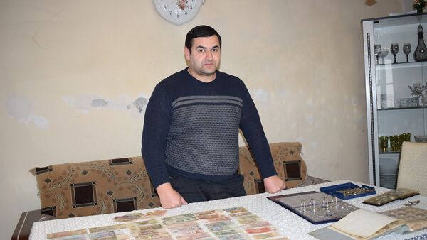 Коллекционер из Газаха Рашад Ахмедов - Sputnik Азербайджан