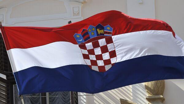 Флаг Республики Хорватия - Sputnik Азербайджан