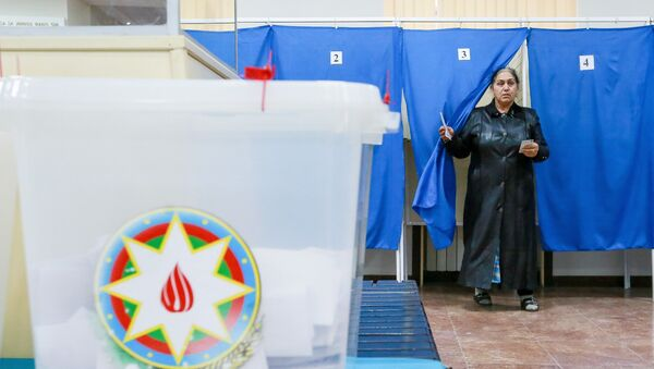 Azərbaycanda prezident seçkiləri - Sputnik Azərbaycan