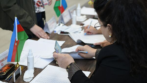 Голосование на выборах президента Азербайджана, 11 апреля 2018 года - Sputnik Азербайджан