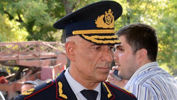 Bakı Şəhər Baş Polis İdarəsinin (BŞBPİ) rəis müavini, polis general-mayoru Səhlab Bağırov - Sputnik Azərbaycan