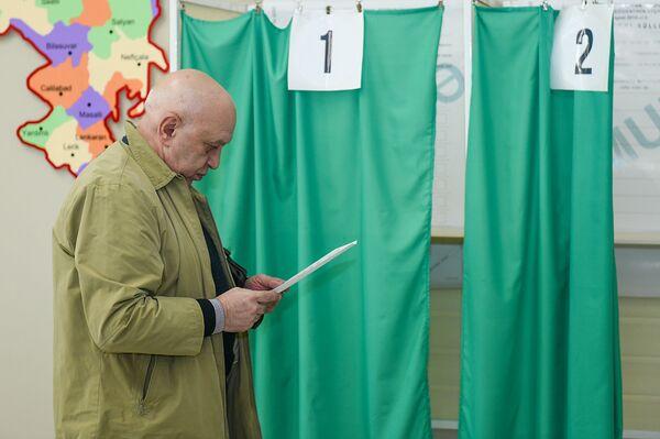 Выборы президента Азербайджана 11 апреля 2018 года - Sputnik Азербайджан