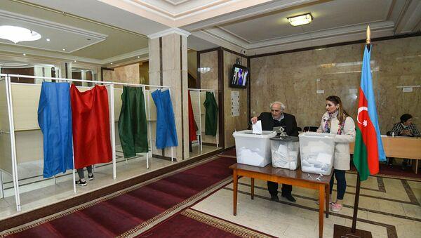 Выборы президента Азербайджана - Sputnik Азербайджан