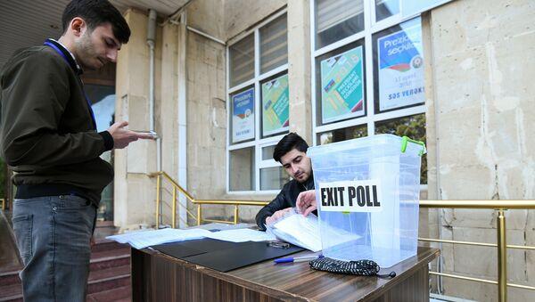 Выборы президента Азербайджана - Sputnik Azərbaycan