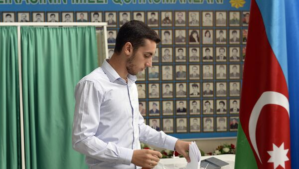 Выборы в Азербайджане, фото из архива - Sputnik Азербайджан