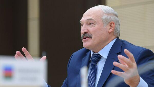 Президент Республики Беларусь Александр Лукашенко - Sputnik Азербайджан