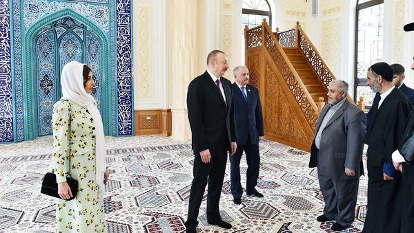Открытие новой мечети Гаджи Джавада - Sputnik Азербайджан