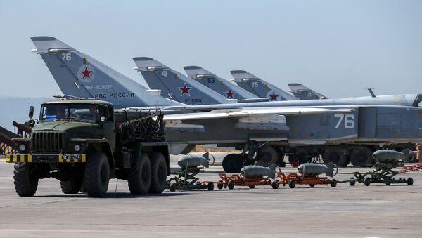 Истребители ВКС РФ в Сирии - Sputnik Азербайджан