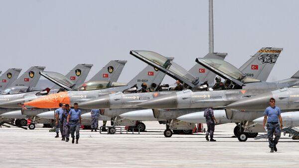 Истребитель F-16 - Sputnik Azərbaycan