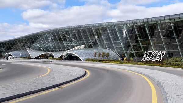 Международный аэропорт Гейдар Алиев. Фото из архива AZAL - Sputnik Азербайджан