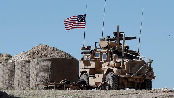 Американские солдаты в Сирии, фото из архива - Sputnik Азербайджан