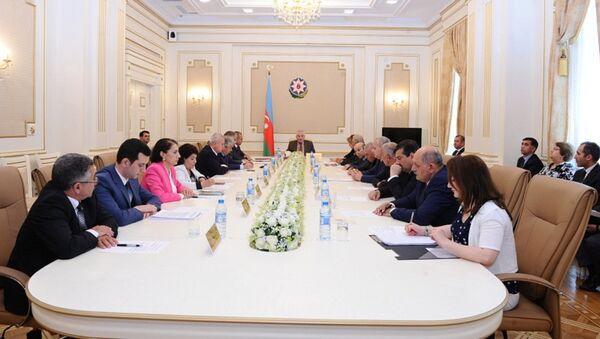 Заседание в ЦИК Азербайджана - Sputnik Азербайджан