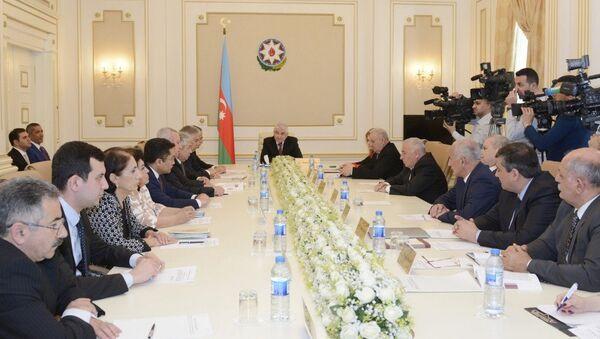 Заседание Центральной избирательной комиссии Азербайджана - Sputnik Азербайджан