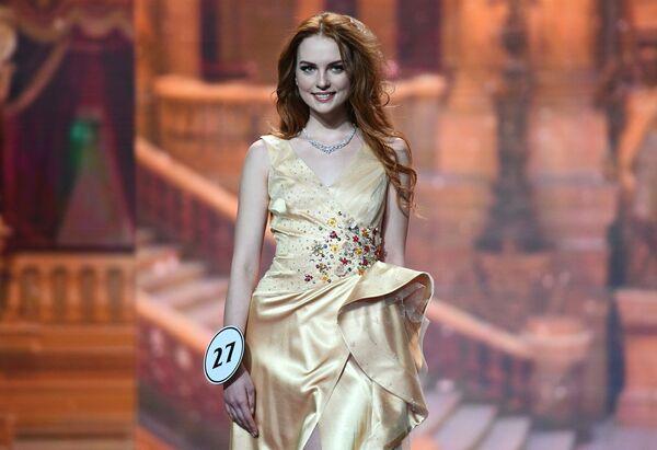 Выступление финалисток конкурса Мисс Россия-2018 в концертном зале Барвиха - Sputnik Азербайджан