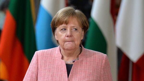 Angela Merkel - Sputnik Azərbaycan