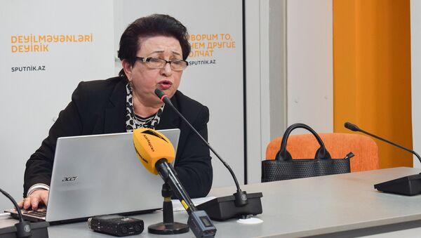 Руководитель Центра гемофилии Эльмира Гадимова - Sputnik Азербайджан