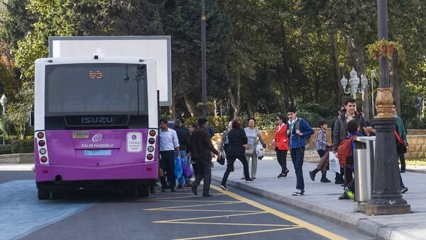 Автобус, фото из архива - Sputnik Азербайджан