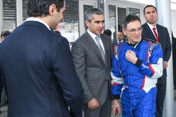 Открытие Бакинского картинг центра - Sputnik Азербайджан