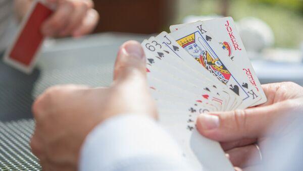 Игра в покер, фото из архива - Sputnik Азербайджан