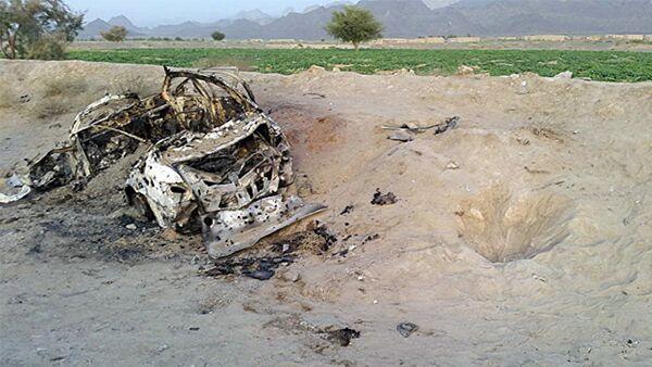 Лидер группировки мулла Ахтар Мансур убит при авиаударе США - Sputnik Азербайджан