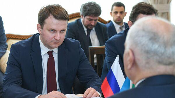 Министр экономического развития РФ Максим Орешкин - Sputnik Азербайджан