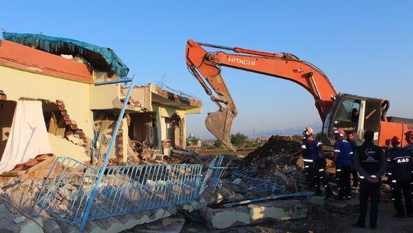 Последствия землетрясения в турецкой провинции Адыйаман - Sputnik Азербайджан